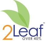If eating at the 2Leaf level, one is deriving between 40 and 60% of their daily calories from whole plants.