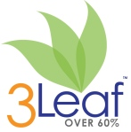 A 3Leaf meal means that there are from 60 to 79% of the calories from whole plants.