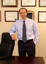 Dr. Joel Fuhrman in his office in New Jersey