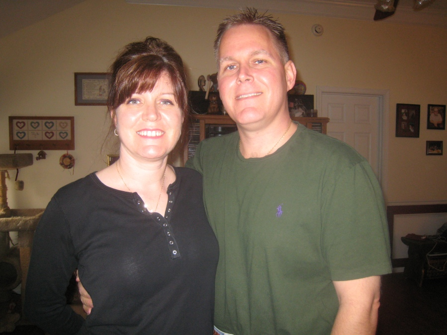 Dr. Hurley with his wife during Thanksgiving of 2010, just before beginning the 4-Leaf Program with my son J. Stanfield Hicks