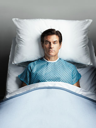 "Dr. Oz described himself as a ""lousy patient"" because he did not follow his doctor's orders very well."
