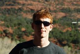 My nephew Shawn in the Arizona desert