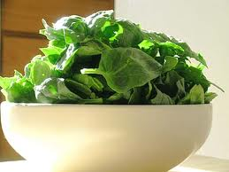 Per calorie, spinach has more protein than sirloin.