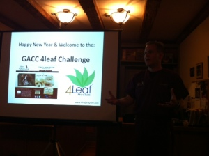 Our 4Leaf Presentation included presentations, testimonials, visuals and Q & A.