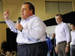 Governor Christie of NJ doing his part to keep obesity rates climbing in his state.