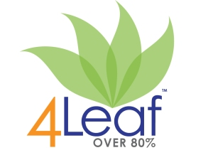The 4Leaf level is reached at over 80% of your calories from whole plants.