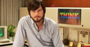 Ashton looks like the spitting image of Steve Jobs.