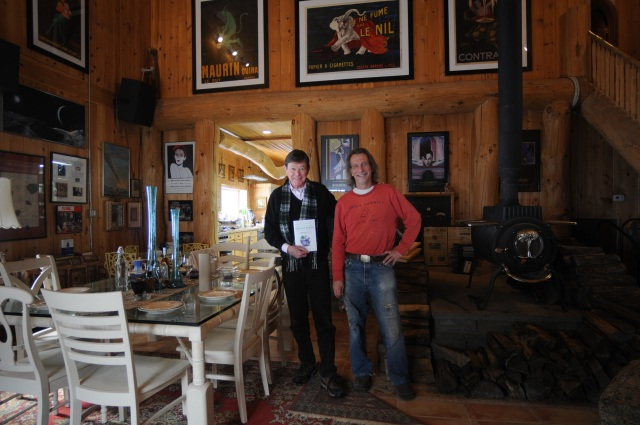 After leaving Ithaca this past Thursday, I stopped by Casper Farms for a bite to eat with owner, Michael Casper.