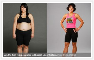 First female winner on the Biggest Loser. Wonder how she is doing today?