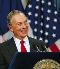Mayor Michael Bloomberg of New York
