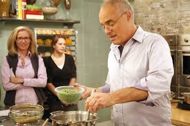 Mark Bittman in the kitchen