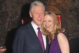 Bill and Chelsea