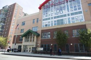 Public School 244, above, partnered with nonprofit New York Coalition for Healthy School Food to design vegetarian recipes.