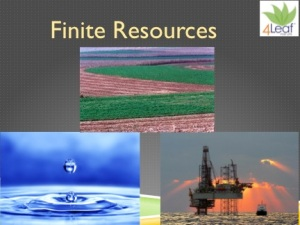 Land, Water and Energy? One of my slides that I use frequently in my presentations.
