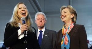 Give Chelsea the microphone and her proud parents will help her fix the biggest problems in the history of humankind.