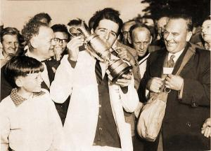Gary Player won his first British Open championship in 1959.