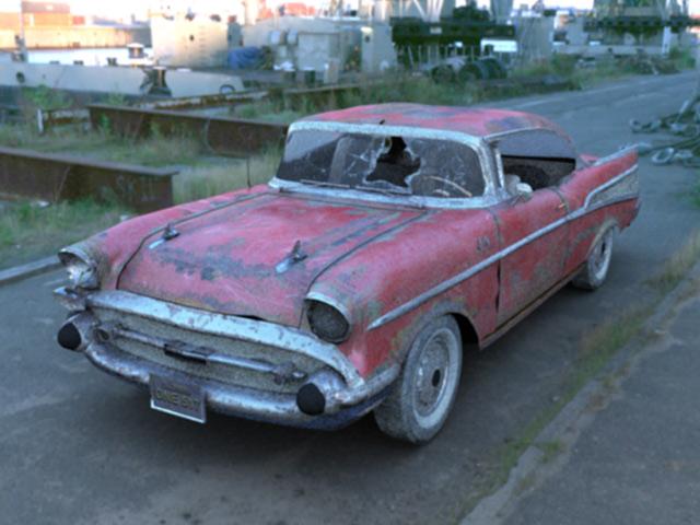 921 Jalopy 57 Chevy