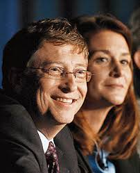 Bill and Melinda Gates control the largest philanthropic fund in the world.