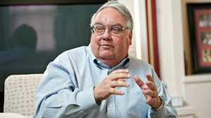 Howard Buffett. Chances are he's not eating a whole foods plant-based diet.