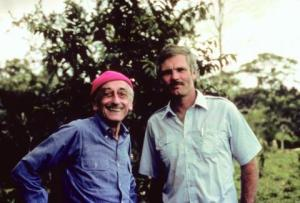 Jacques Cousteau and Ted Turner