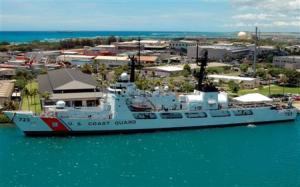 My three years in the Coast Guard were spent at USCG Base Honolulu in the shadows of Aloha Tower.