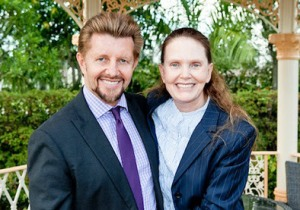 Dr. Brian Clement and wife Anna Marie