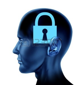 14119137-lock-closed-locked-secrets-mystery-symbol-as-a-side-view-brain-and-mind-head-as-a-concept-of-rigid-i