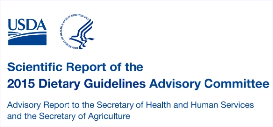 Illustration scientific report of the 2015 dietary guidelines advisory