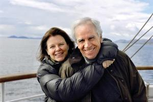 Kris and Doug Tompkins. She is the former CEO of Patagonia.